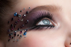 Augen-Make-up Stockfotografie