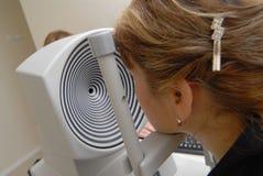 Augen-Prüfung Stockfotos