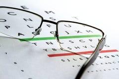 Augen-Test Stockfoto