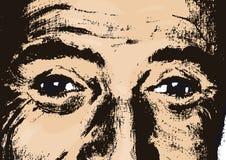 Augen (Vektor) Lizenzfreies Stockbild