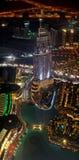 Augenansicht des Vogels des Adressen-Hotels in Dubai Stockfoto