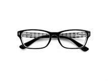 Augenglas auf weißem Hintergrund stockfotografie