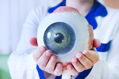 Augenheilkunde oculus Beispielnahaufnahme Lizenzfreie Stockfotos
