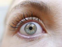 Augenmädchenmake-up Lizenzfreie Stockbilder