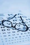 Augenprüfung Lizenzfreie Stockfotografie
