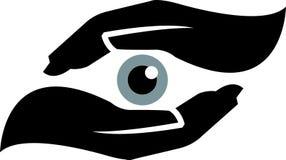 Augensicherheit stock abbildung