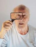 Augenspion Stockfotografie