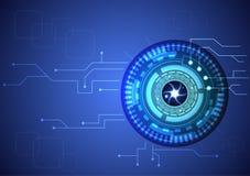Augentechnologie Stockfoto