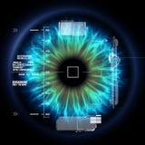 Augentechnologie Stockbild