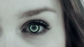 Augentechnologie stock footage