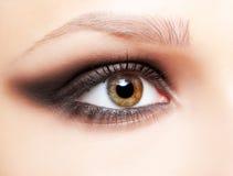 Augenzone bilden Lizenzfreies Stockfoto