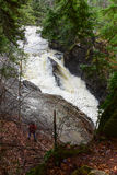 Auger Falls Stock Photography