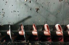 auger śruby produkcji wina obraz stock
