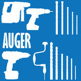 Auger Stock Photography