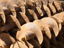 Augers świderów takielunki dla wiertniczych studni Fotografia Royalty Free