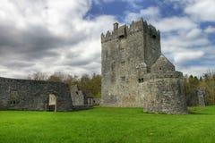aughnanure城堡co高尔韦爱尔兰 免版税图库摄影