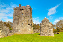 Aughnanure Castle in Co. Galway Stock Photos
