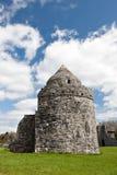 Aughnanure Kontrollturm in Irland. Lizenzfreie Stockfotos