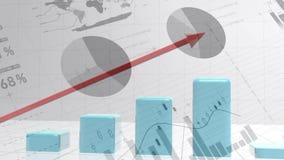Augmentation de barre analogique illustration stock