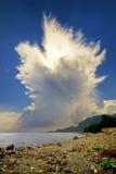 Augmentation de nuage d'Incus de cumulonimbus images libres de droits