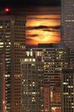 Augmentation de pleine lune Photographie stock libre de droits