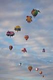 Augmentation spéciale de ballons de formes Photo stock