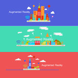 Augmented Reality concept design vector illustration