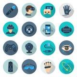 Augmented reality set Stock Photos