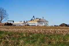 Augmenter de grange photo libre de droits