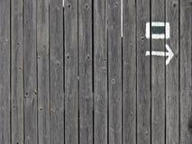 Augmenter-traîner-signe Image libre de droits
