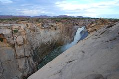 Augrabies Falls National Park, Northern Cape, South Africa. Augrabies Falls National Park is a national park located around the Augrabies Falls, about 120 km royalty free stock image