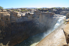 Augrabies falls. A view from Augrabies falls, South Africa Royalty Free Stock Photo