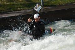 Augsburg Alemanha, o 28 de março de 2017, treinando para os campeonatos em Ottawa 2017 Fotos de Stock Royalty Free