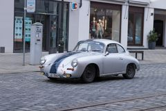 Porsche 356 90 oldtimer car Stock Photography