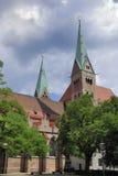 augsburg katedra Obrazy Stock