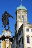 augsburg stadshus Royaltyfria Bilder