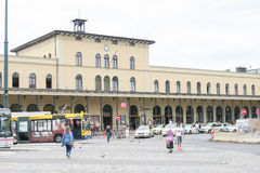 Augsburg station Stock Photography