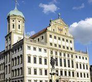 Augsburg town hall Stock Photography