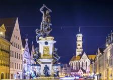 Augsburg Tyskland Royaltyfri Foto
