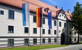 Augsburski domu przeglądać zdjęcie royalty free