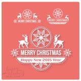 Augurandogli molta stagione di Joy Holiday Nuova… birra felice! Fotografie Stock Libere da Diritti