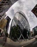 Augurk in Londen Royalty-vrije Stock Afbeeldingen
