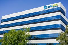 Free August 2, 2017 Santa Clara/CA/USA - Palo Alto Networks HQ Building Stock Photography - 135815462