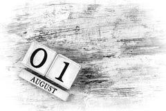 1. August stockfotografie