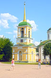 August Belfry 1792 Architects Mironov Dikushin palace and park ensemble of Counts Kuskovo Sheremetiev Stock Images