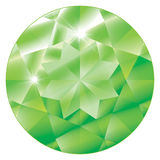 August Birthstone - Peridot Stock Photography