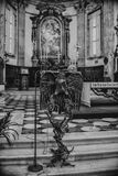 August 06 2017, Brescia, Italy, inside the Old cathedral Brescia Royalty Free Stock Images