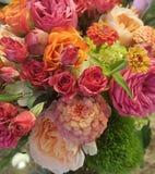 August bridal bouquet stock images