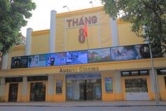 August Cinema Hanoi Vietnam stock photo