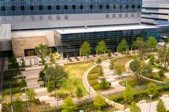 19. August 2015 - Dallas, Texas, USA Der neue Zusatz zu Parkl Stockfotografie